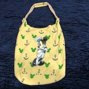 Mickey Mouse tote, like new! Sailor Mickey!!